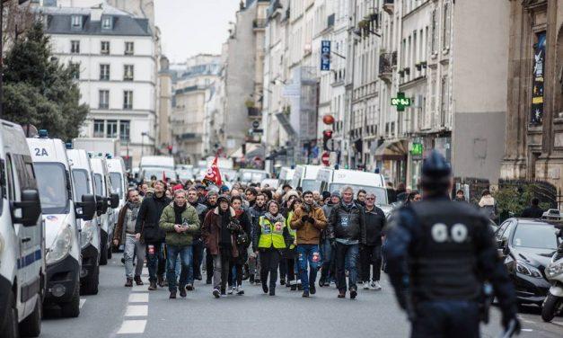 Droit de manifester, l'enjeu majeur de la journée de mobilisation du 13 avril