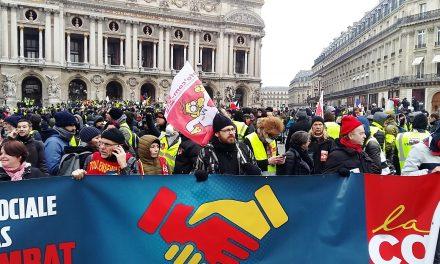 Acte 21, la CGT Paris pour la justice sociale et la liberté