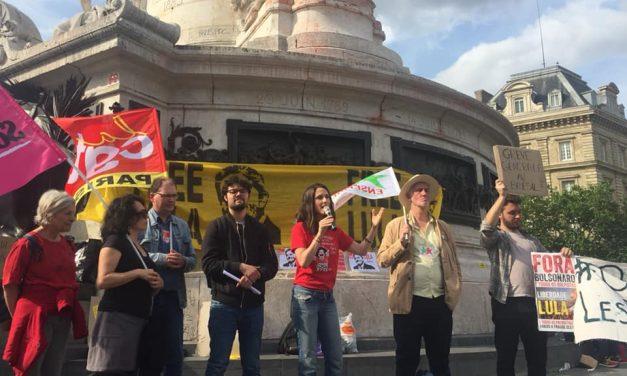 Brésil : solidarité à la grève générale du 14 juin ! Rassemblement de solidarité à Paris, 17h30, place de la République