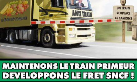 Sauvons le train des primeurs ! Action fret le 20 juin à Paris