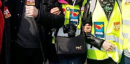 La CGT Paris en manifestation avec les gilets jaunes : acte 31
