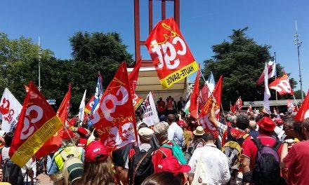 La CGT à Genève pour les droits des salarié.e.s du monde entier !