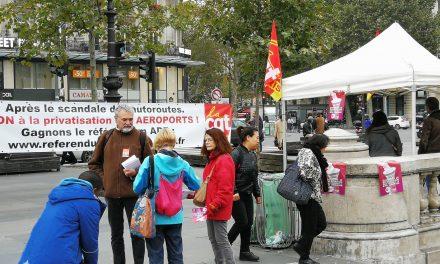Aéroports de Paris. Pour le service public, pour la démocratie, contre la privatisation !