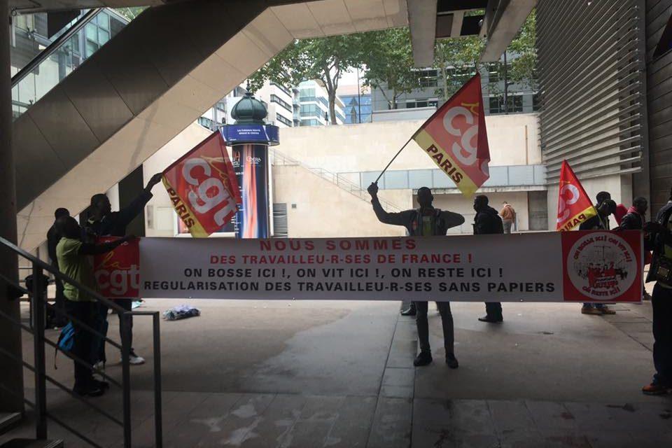 Travailleurs sans papiers : grève coordonnée, avec occupation, de 12 sites franciliens !