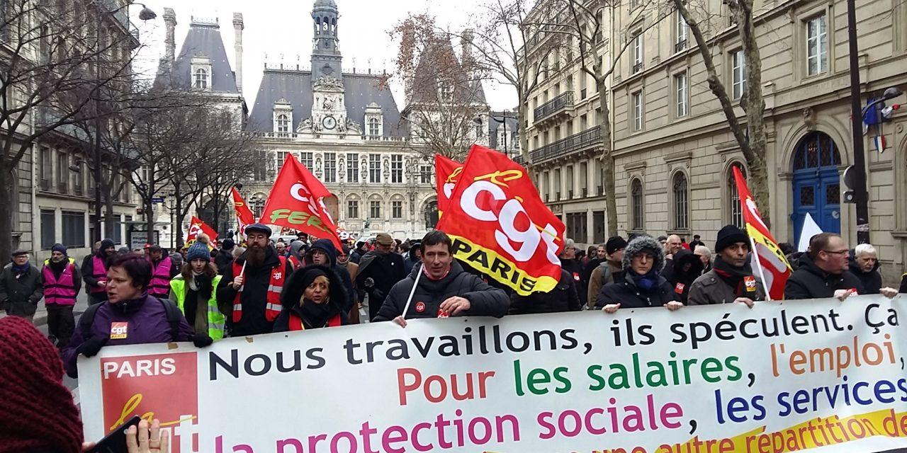 5 décembre : appel du Comité Confédéral National  de la CGT