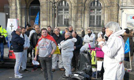 Exposés à des toxiques, les salariés d'Eau de Paris sont en grève illimitée !