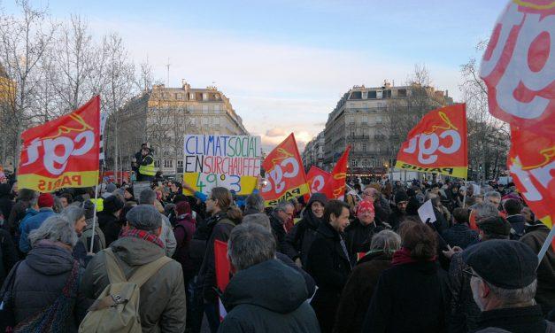 Toutes et tous à la manifestation ! République, 13H30.
