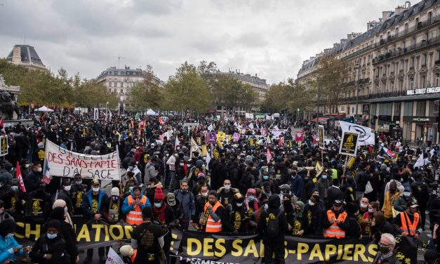 Soutien intersyndical à la marche nationale des Sans-Papiers