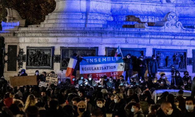 Exilé•es : solidarité réaffirmée face à la violence policière