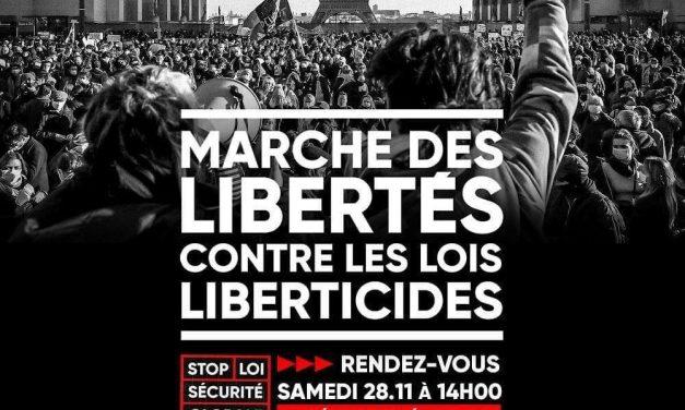 Lallement interdit la manif. Les citoyen•nes marcheront quand même pour les libertés !