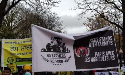 Solidarité avec les agriculteurs indiens !