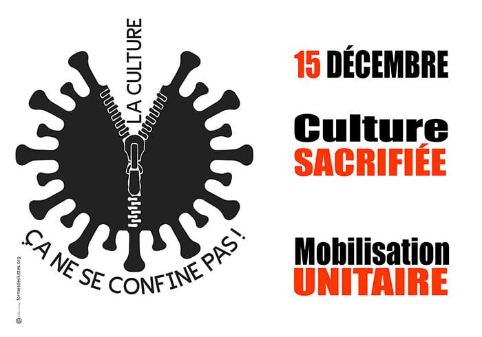 La culture sacrifiée : mobilisons-nous ensemble !