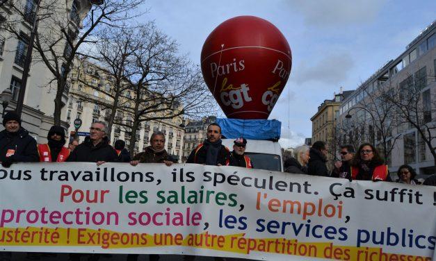 Manifestation nationale à Paris, le 23 janvier, pour défendre l'emploi