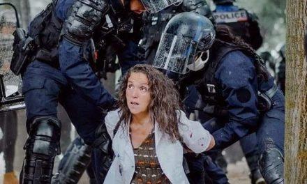 Rassemblement contre le procès de Farida, infirmière de l'AP-HP du Val-de-Marne