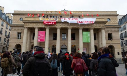 Halte au sacrifice de la culture ! Vive l'occupation des théâtres !