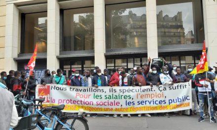Les livreurs de plateformes créent le tout premier syndicat CGT des livreurs de Paris !