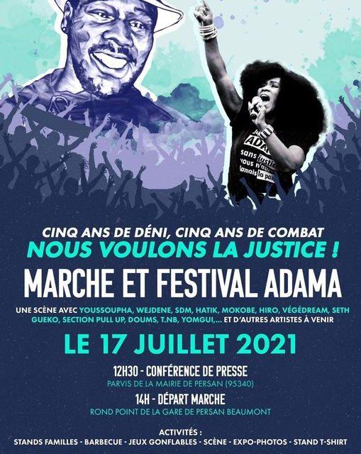 Appel au rassemblement le 17 juillet en hommage à Adama Traoré