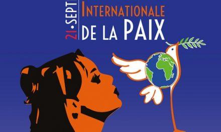 Samedi 25 septembre, Agora pour la paix, 14H, place de la république